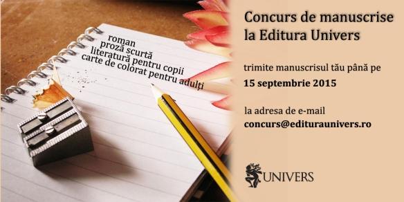concurs manuscrise